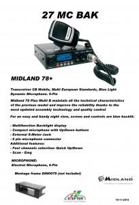 MIDLAND 78